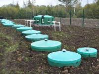 В пос. Ладва в Карелии завершено строительство новых очистных сооружений канализации