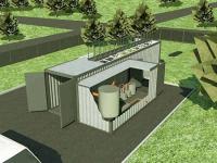 Локальные очистные сооружения FloTenk- BioDrafts на Харанорском угольном разрезе