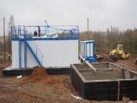 В Брянской области готовятся к вводу в строй первые в регионе новые очистные сооружения канализации