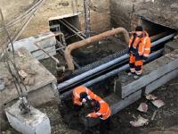 В Красноярске завершается второй этап капитального ремонта проходного коллектора